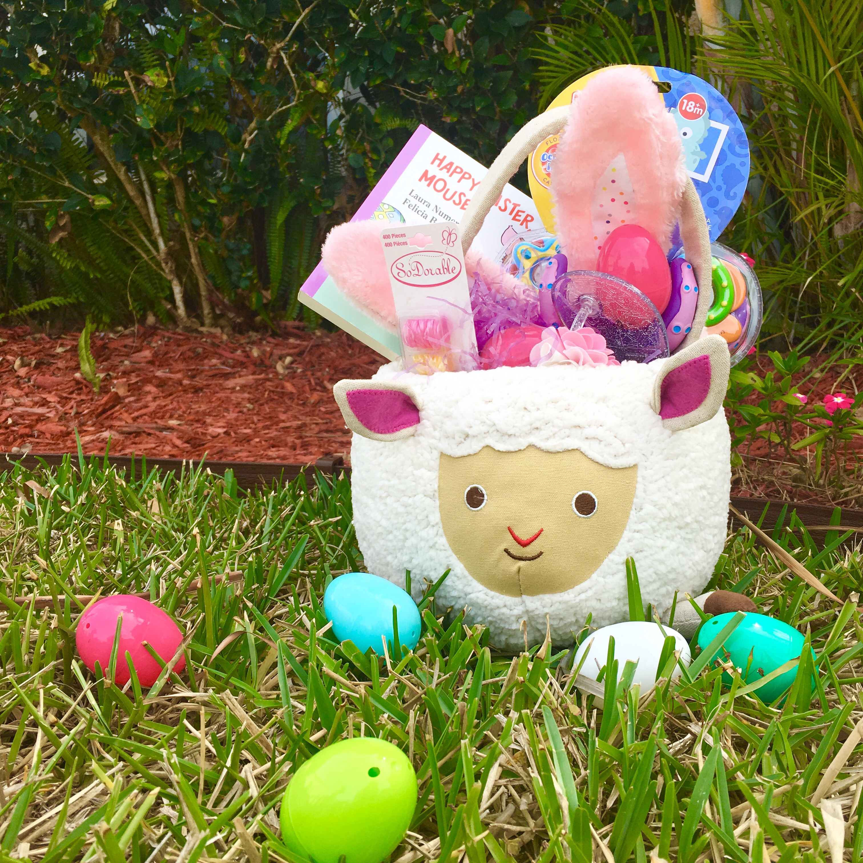 Easter basket for 18 month old momming in style a super cute trend this year is plush baskets something that can double as a toy after your tot enjoys easter raegans basket base was negle Gallery